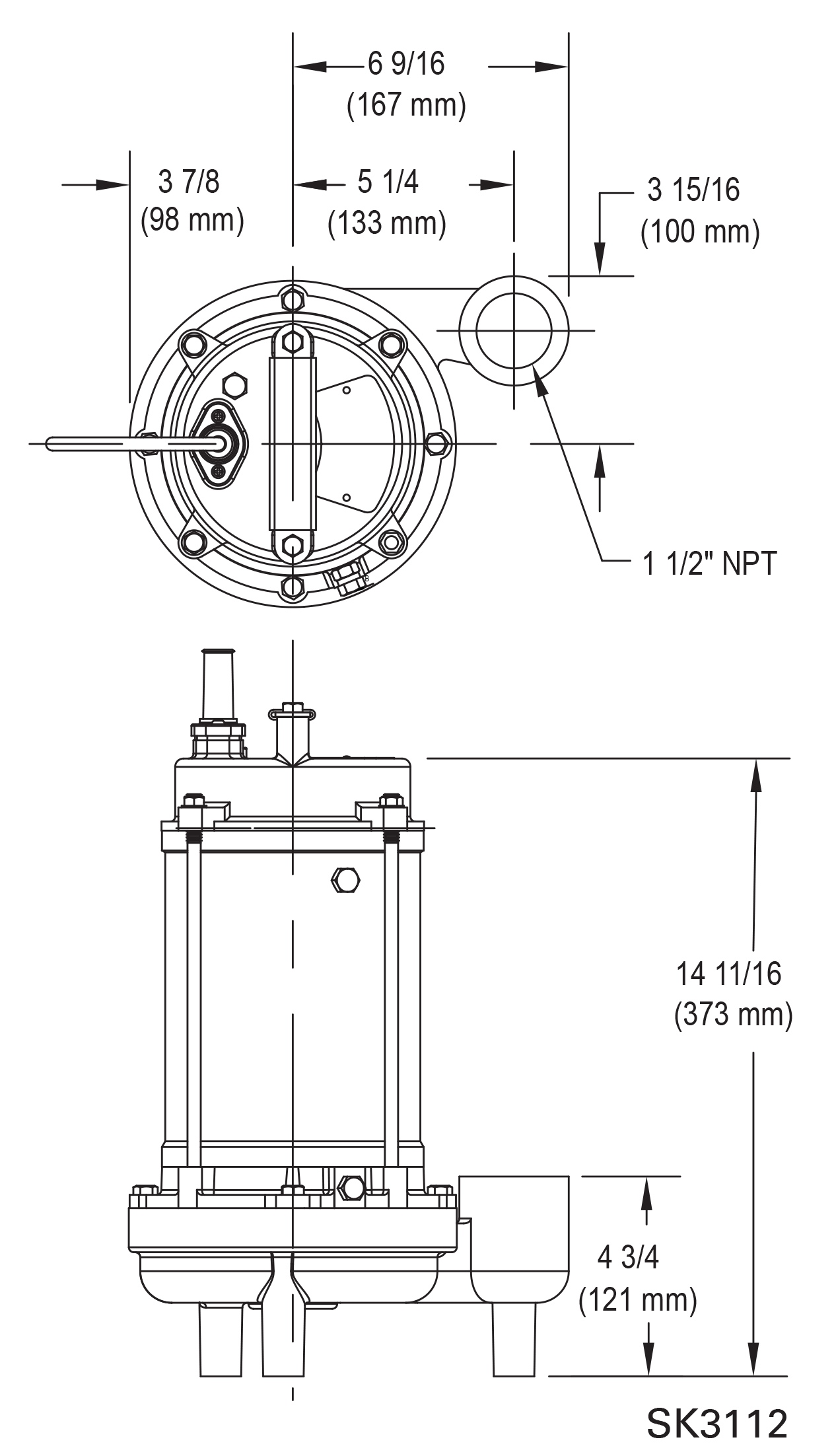 Centrifugal Effluent Pump 5054 Clarus Environmental Wiring Diagram 230v Fusion Design Tools